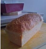 Sesamsiemen leipä