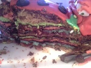 Kakku sisältä