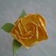 Ensimmäinen langoitettu kukka ikinä