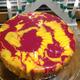 Uuden vuoden mango-passion kakku