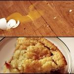 Ja munat meni rikki