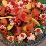 Varsin hyvä salaatti