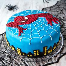 Spiderman-kakku