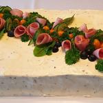 Kinkku-salami synttäreille 1,5 kertaisena