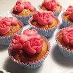 Ruususen muffinssit