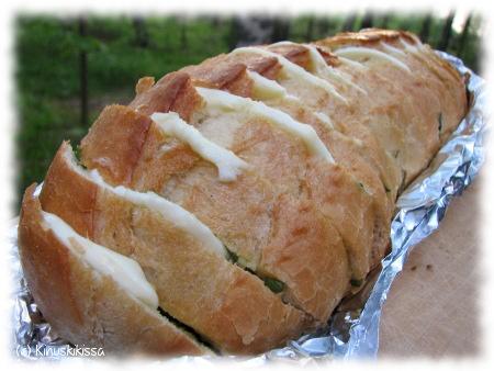 Täytetty ranskanleipä
