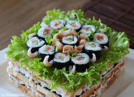 sushi kakku