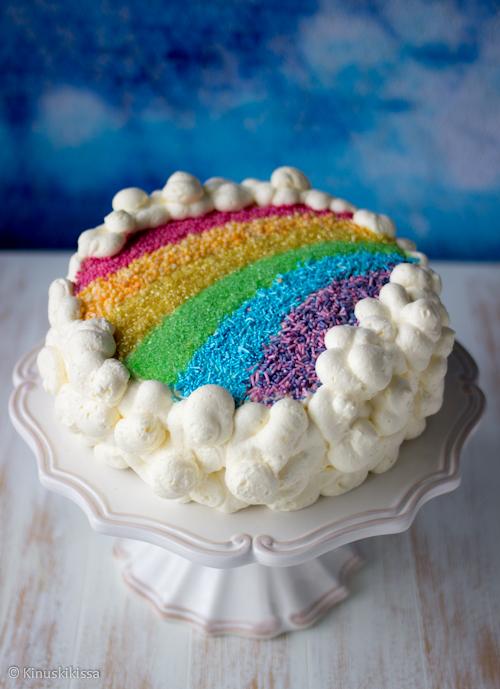 lasten kakun koristelu