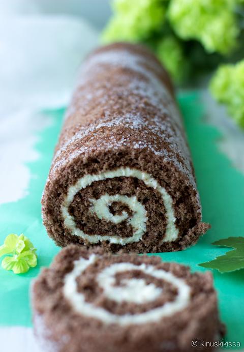 gluteeniton kääretorttu suklaa