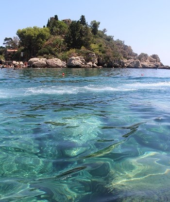 Isola bella, taormina pieni