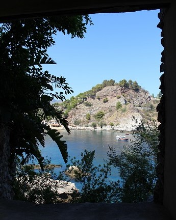 Taormina meri pieni