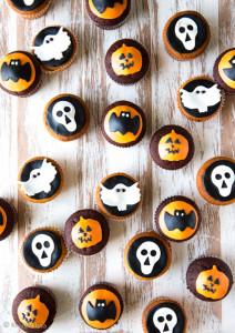 halloween muffinit
