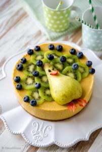 hedelmasmoothie kakku