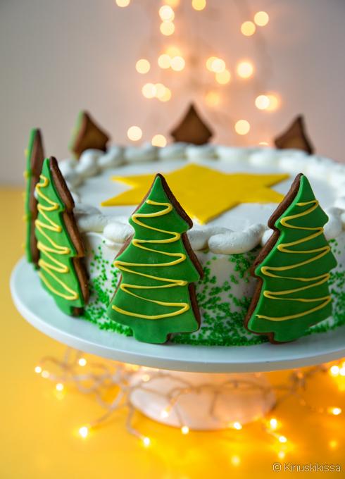 joulukuusikakku