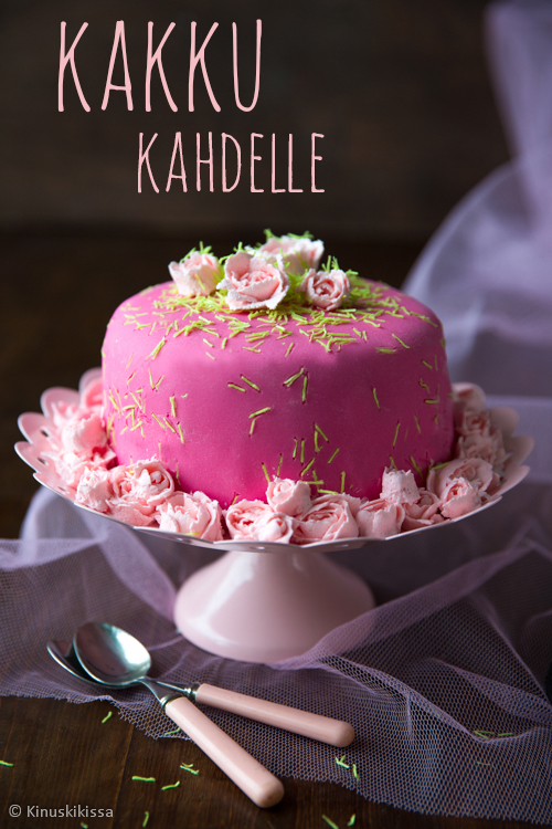 kahden hengen kakku