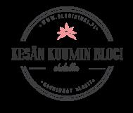 kesänkuuminblogi ehdolla logo