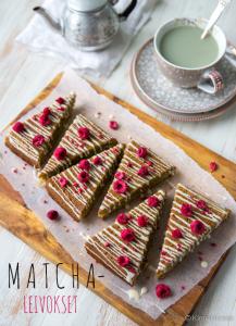 matcha kakku