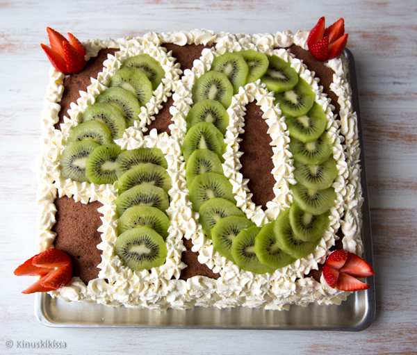pyoreat vuodet kakku