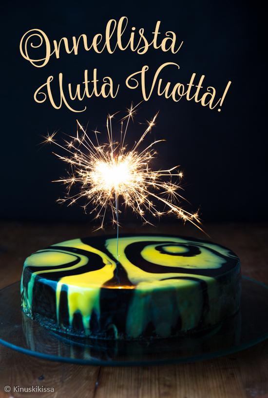 sakenoiva uuden vuoden kakku