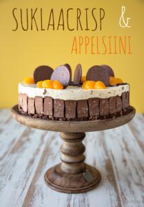 suklaacrisp kakku