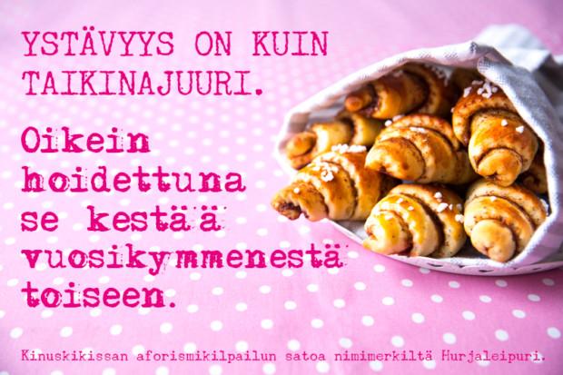 Hyvää ystävänpäivää!   Kinuskikissa   Suomen suosituin leivontayhteisö